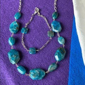 *Apatite necklace and bracelet
